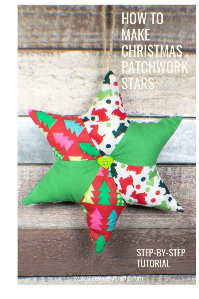How to make a Christmas patchwork star