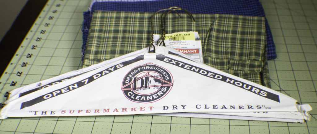 How to Make Fabric Wire Hanger Covers