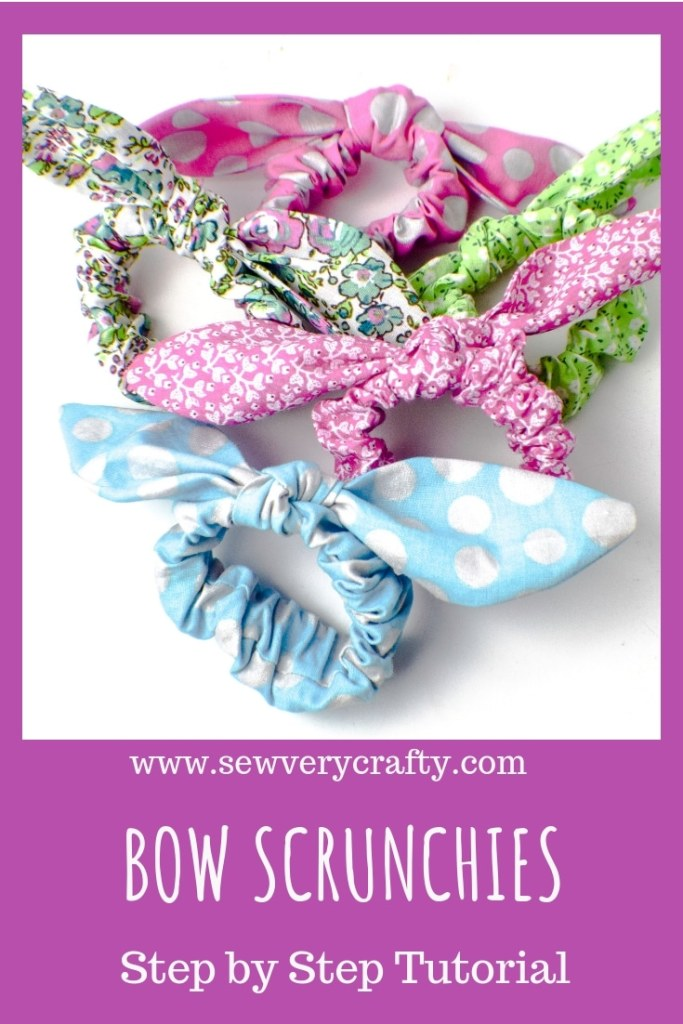 How to make bow scrunchie