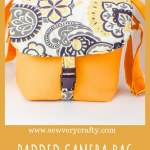 Make a padded dslr camera bag
