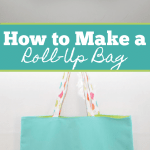 How to make a roll-up shopping bag