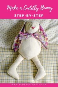 Make a cuddly bunny