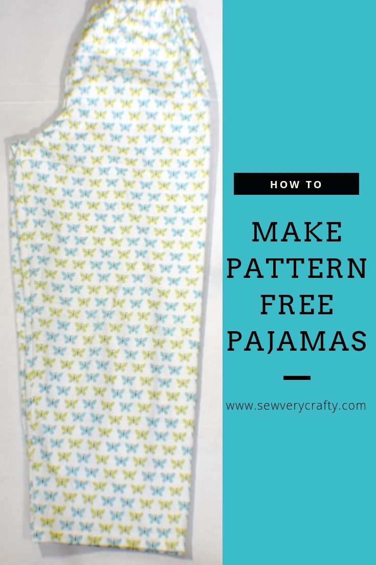 graphic regarding Printable Pajama Pants Pattern identified as Produce Pajama Bottoms Without having a Habit - Sew Exceptionally Cunning