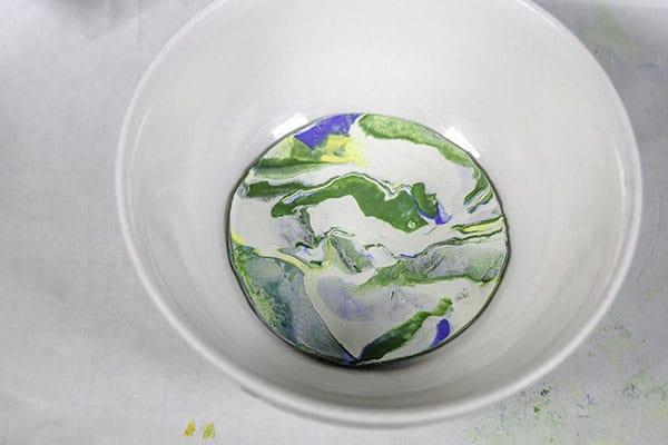 Make Polymer clay trinket bowels