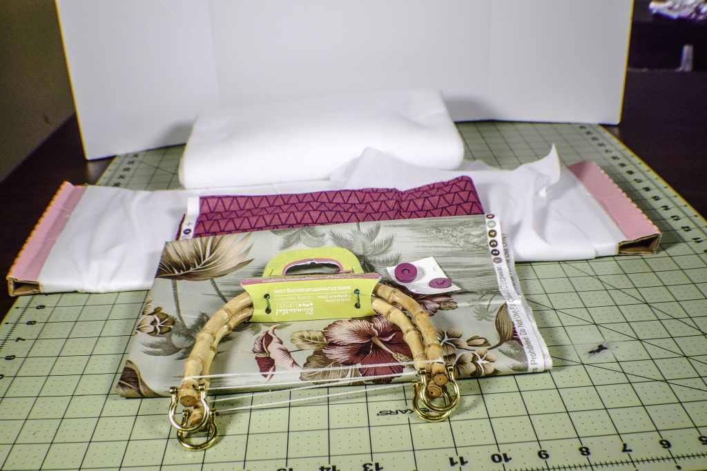 Make a Handbag with Bamboo Handles