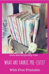 What are fabric pre-cuts?