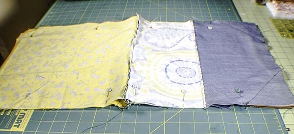 How to make a simple foldover clutch