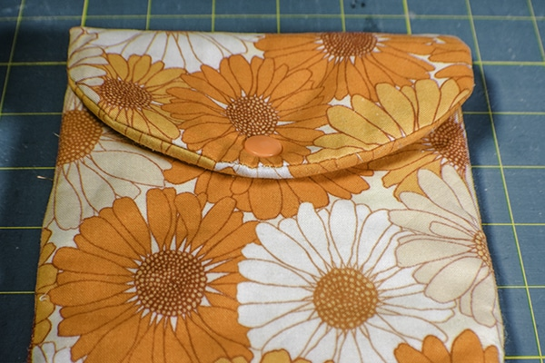 How to make a flat iron case