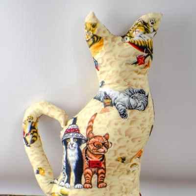 How to Make a Fun Cat Plushie