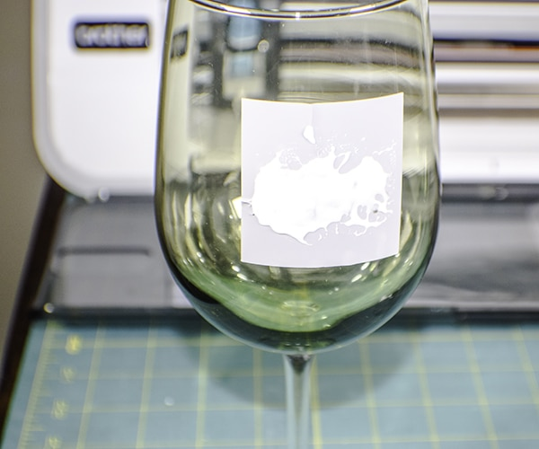 How to make diy vinyl etched glass
