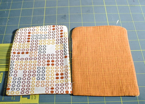 How to make a fabric gift card holder