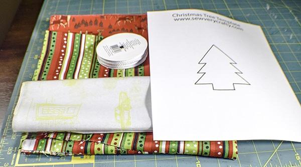 How to make a Christmas treat bag
