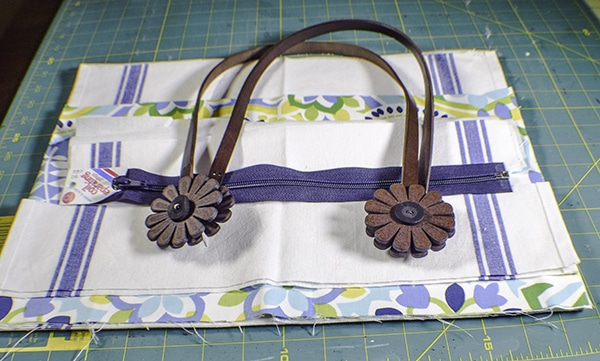 How to Make a Dishcloth handbag