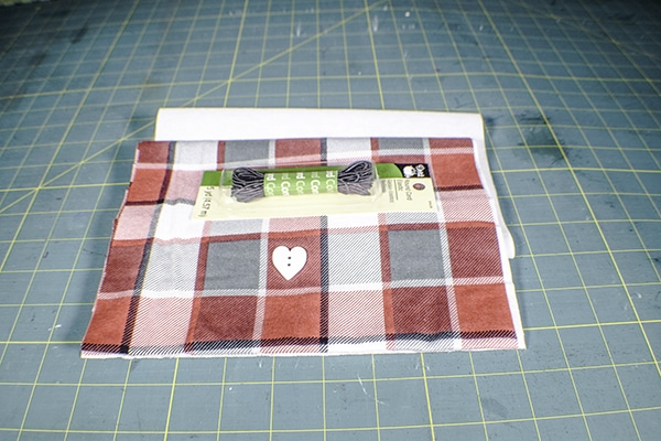 How to Make a Simple fabric gift bag