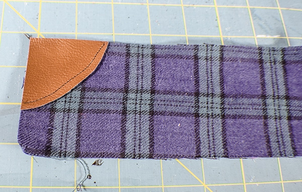 How to make a zippered wristlet purse