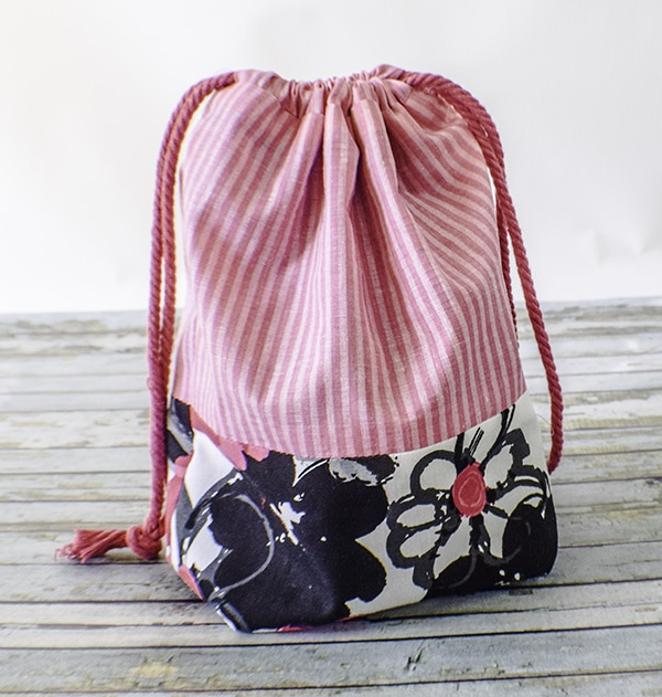 How to Make a drawstring Pouch