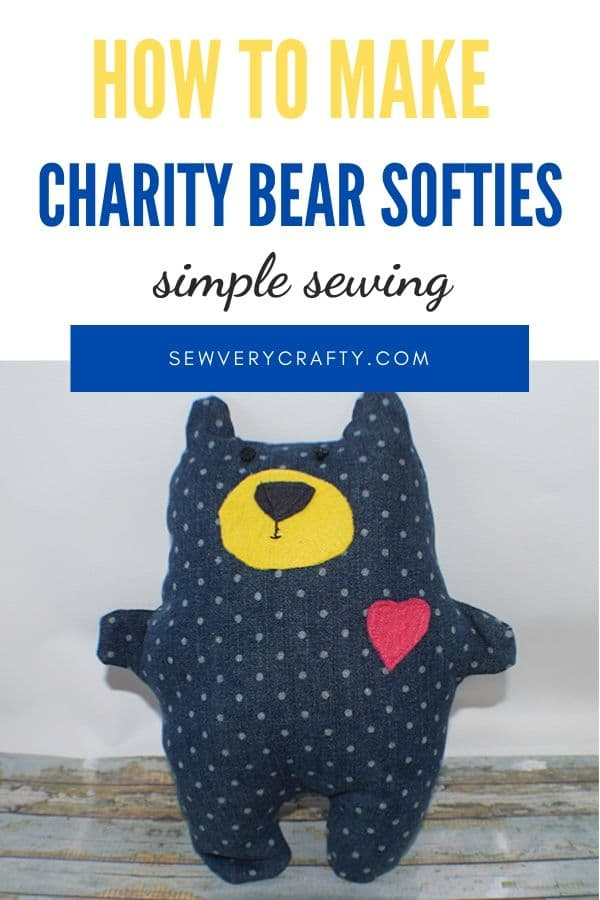 How to make a charity bear softy