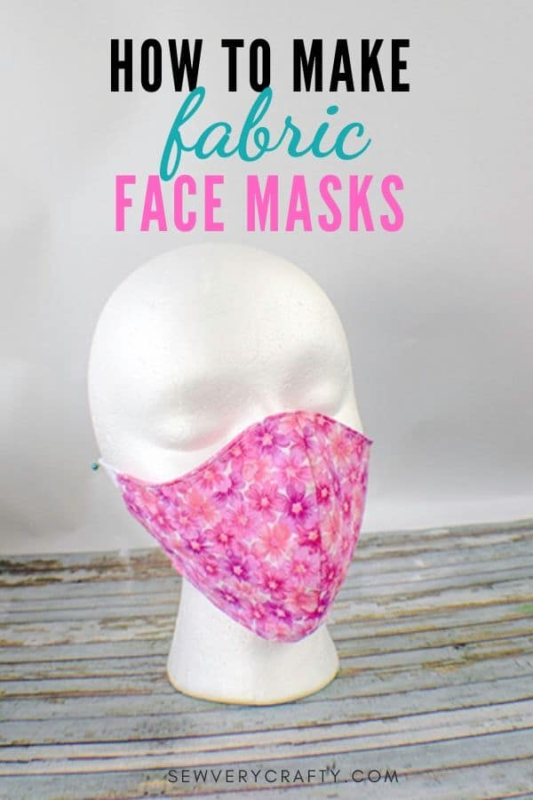 How to Make Fabric Face Masks