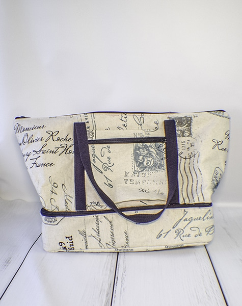How to Make Large Travel Tote