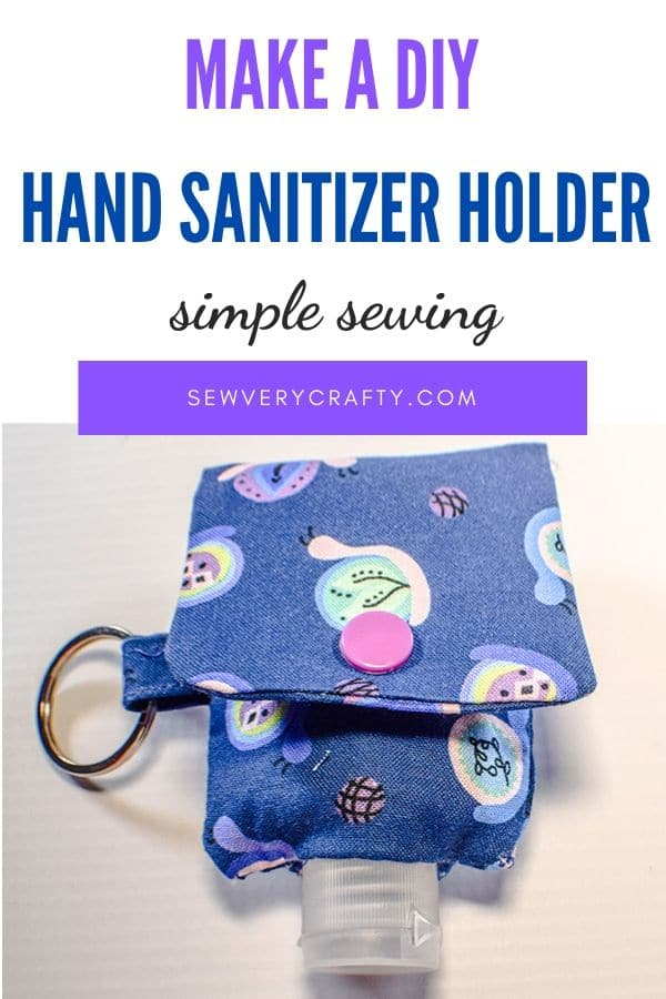 How to Make a Key Chain Hand Sanitizer Holder