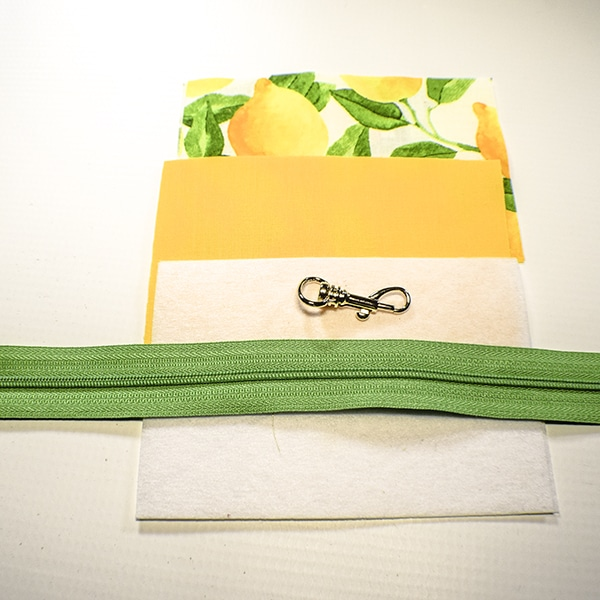 How to make a boxy key chain pouch