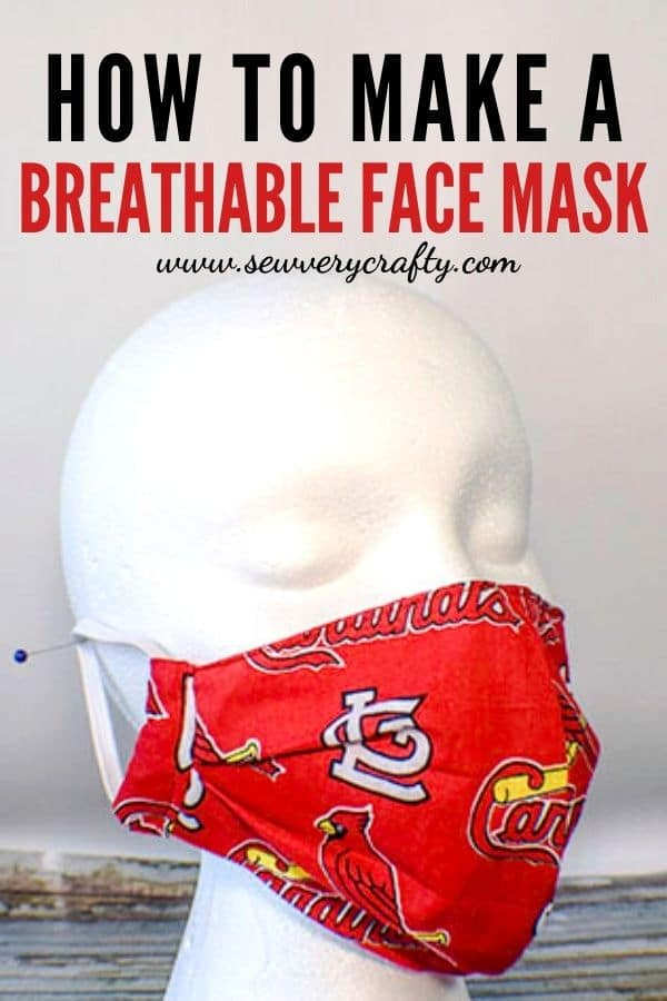 How to make a breathable face mask