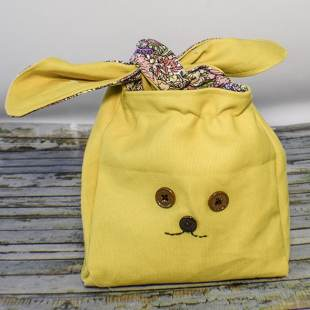 How to Make a Bunny Snack Bag