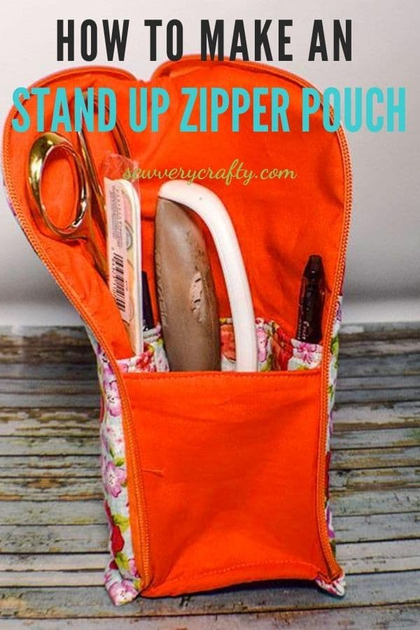 How to Make a Stand Up zipper pouch