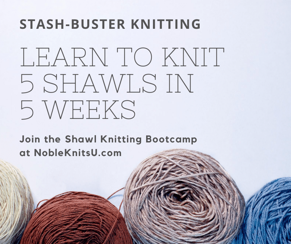 shawl bootcamp