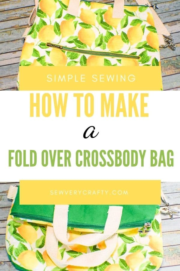 Learn to sew a cross body bag