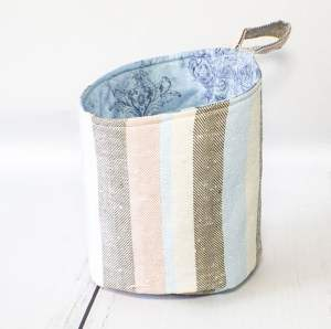 Learn to sew fabric storage pods