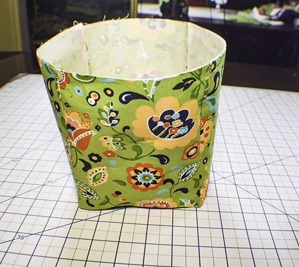How to Make Fabric Storage Cubes