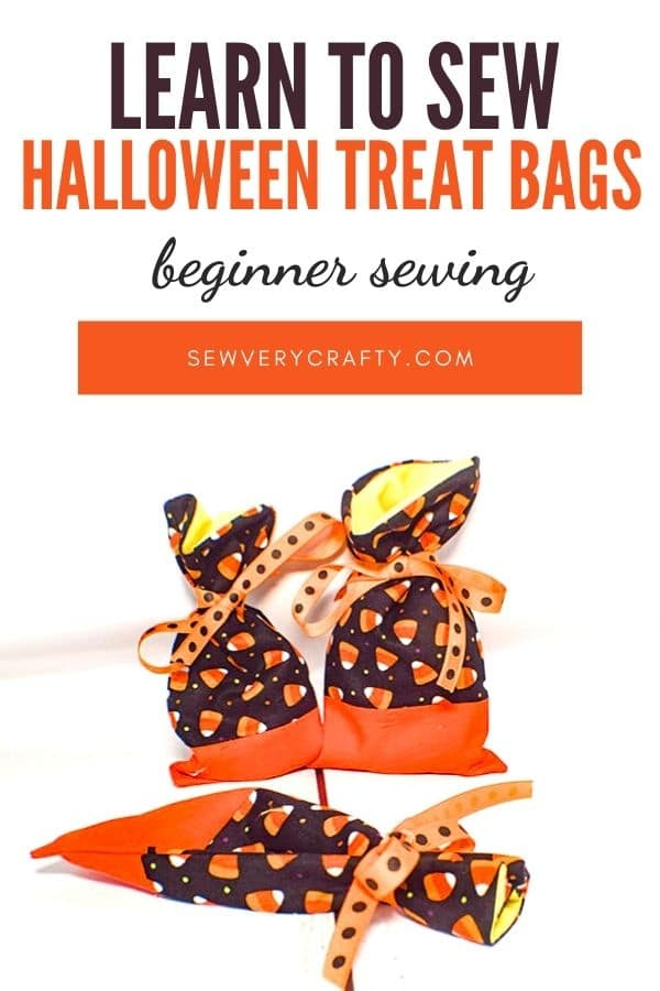 How to Make Mini Halloween Treat Bags