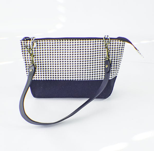 How to sew a mini handbag