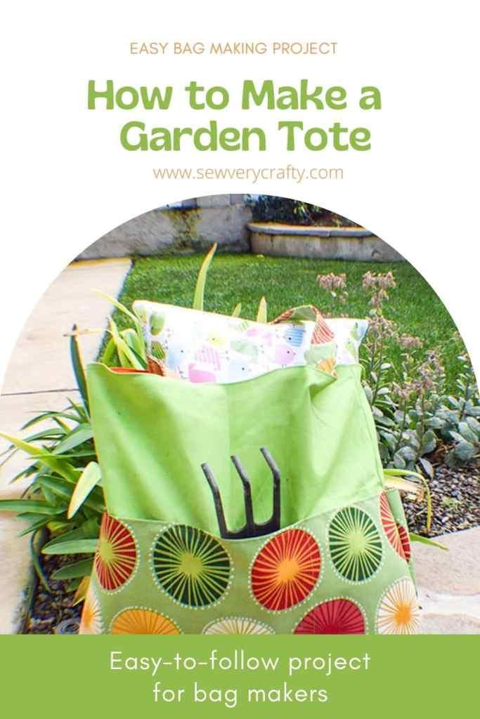 How to Make a Garden Tote