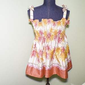 How to Make a Shirred Summer top