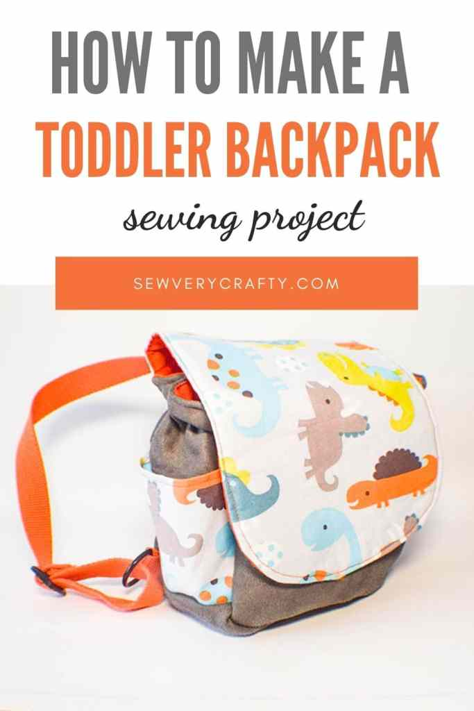 How to Make a toddler backpack