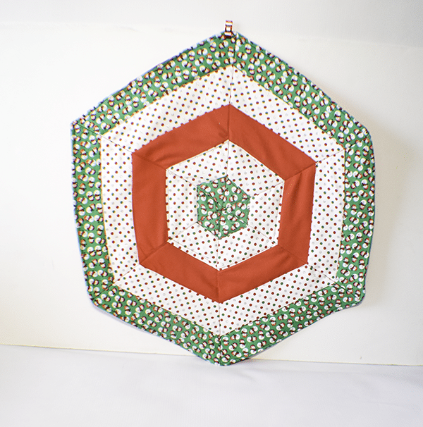 How to Make a Hexagon Table Topper