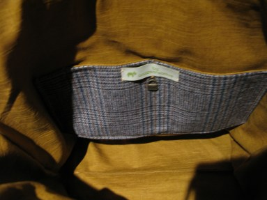 Inner slip pocket