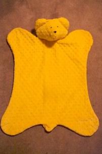 Sew Well Cotton Ginny's Animal Blanket - Bear Blanket