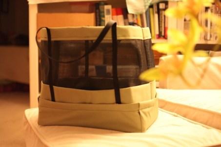 Sew Well - Eddie's Quilting Bee Mesh Screen Bag