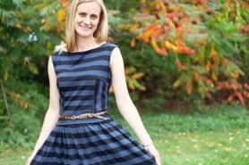 Sew Well - BurdaStyle Swing Dress