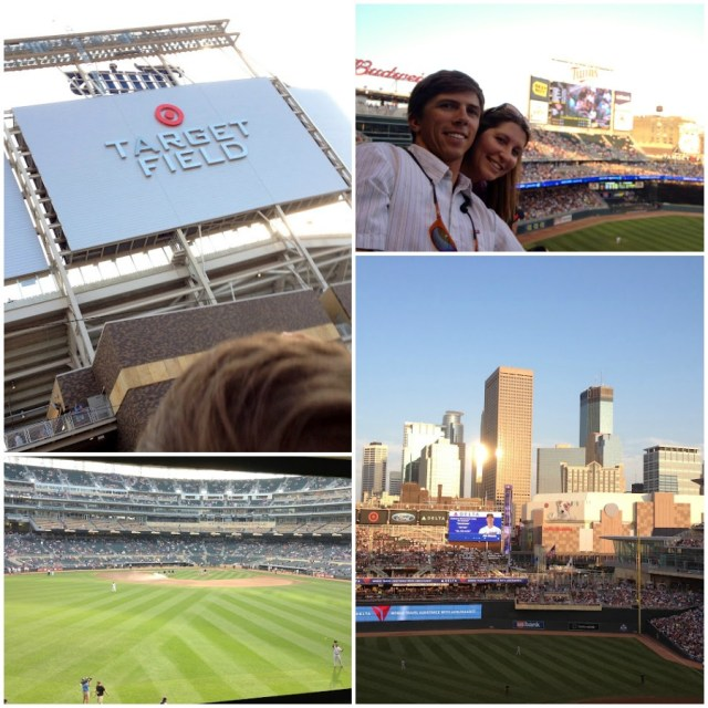 Target Field Twins game