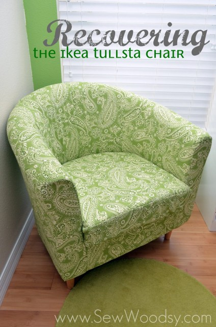 Recovering the Ikea Tullsta Chair