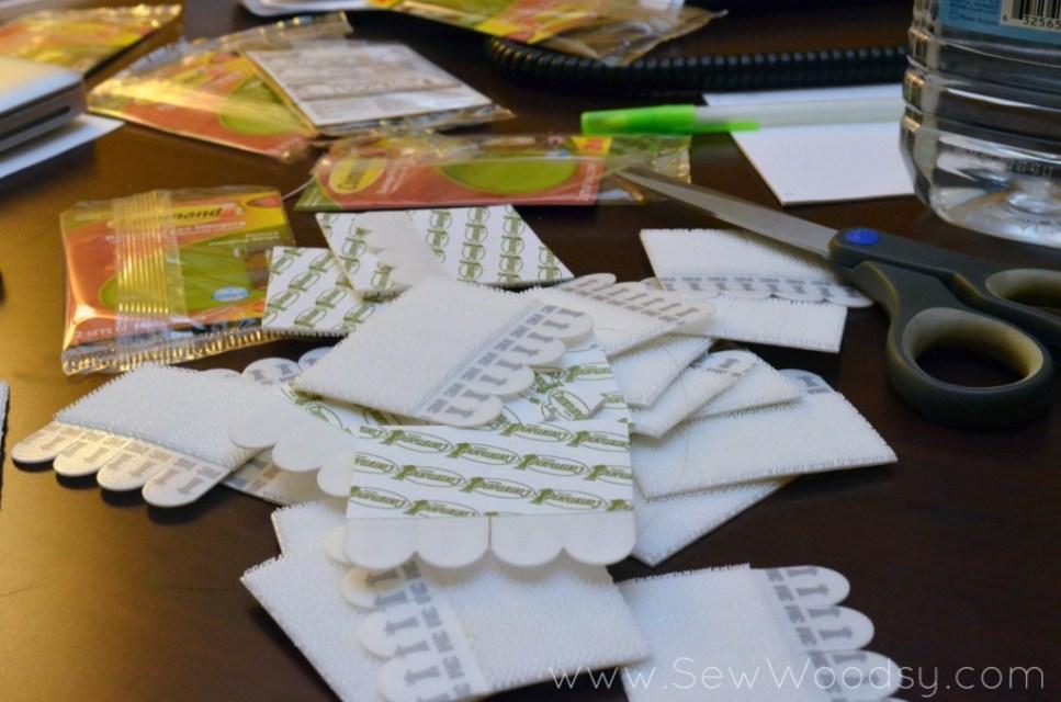 Command Strips: Instagram Inspired Door SNAP! 2013 via SewWoodsy.com