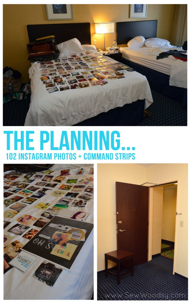 Pre-Planning: Instagram Inspired Door SNAP! 2013 via SewWoodsy.com