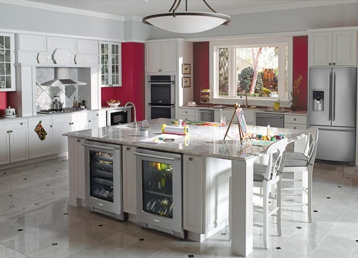 Electrolux Dream Kitchen via SewWoodsy.com