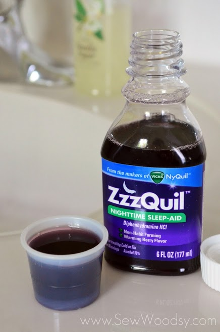 ZzzQuil Nighttime Sleep-Aid Product Review from SewWoodsy.com #ZzzQuilNight