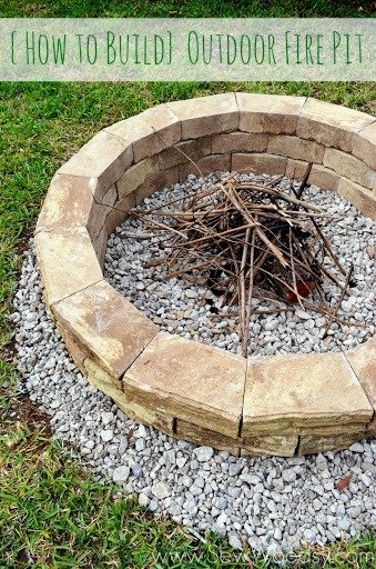 {How to Build} Outdoor Fire Pit via SewWoodsy.com for @Homes.com #diy #outdoor #video{How to Build} Outdoor Fire Pit via SewWoodsy.com for @Homes.com #diy #outdoor #video{How to Build} Outdoor Fire Pit via SewWoodsy.com for @Homes.com #diy #outdoor #video