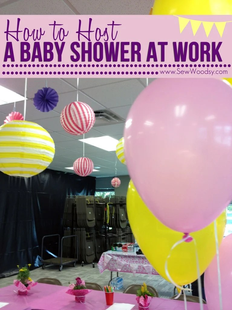 Work Baby Shower Games